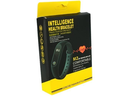 smart band m2 pulsera inteligente sensor ritmo cardíaco c2s
