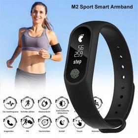 Smart Band M2 Smart Bracelet Heart Rate Monitor Pl Bluetooth
