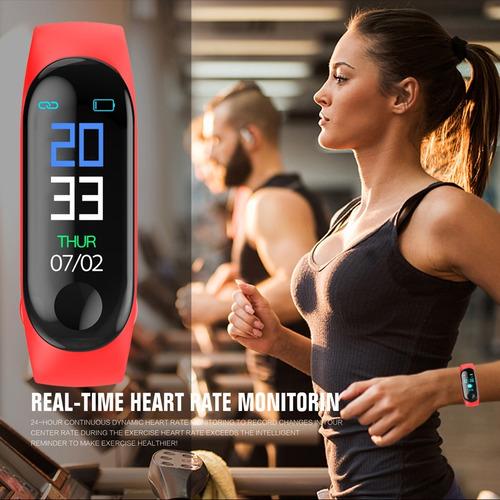 smart band m3 ejercicio ritmo cardiaco reloj inteligente