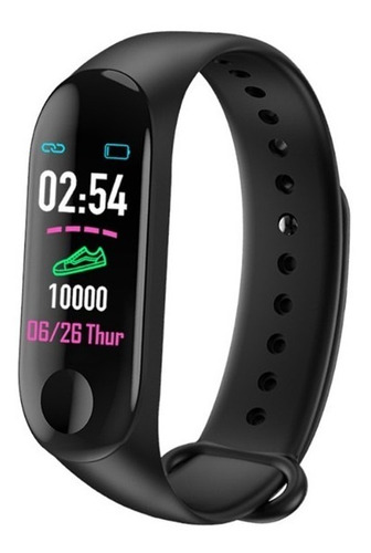 smart band m3 pulsera inteligente version yoho sports