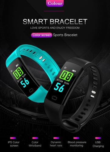 smart band modo fitness, ritmo cardiaco.