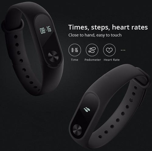 smart band pulsera reloj inteligente pasos ritmo cardíaco ®