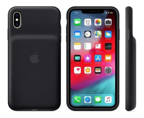smart battery case apple iphone xs max - original
