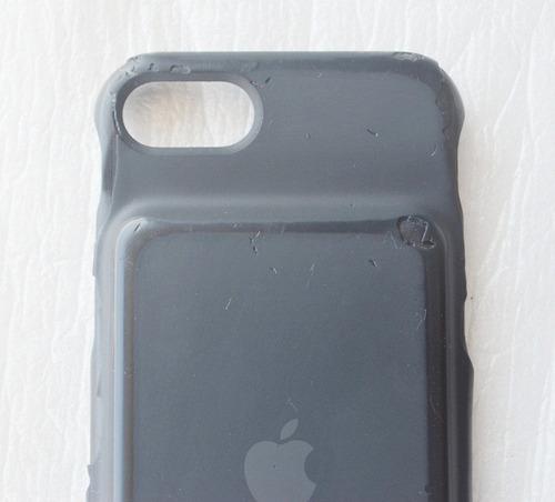 smart battery case iphone 7 a1765 case negro usado detalle
