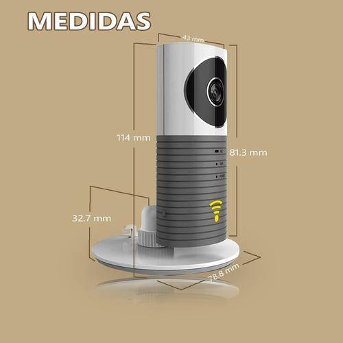 smart cámara plus hd - vista nocturna - angulo de 120°