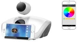 smart camera wifi speaker * vigilancia discreta