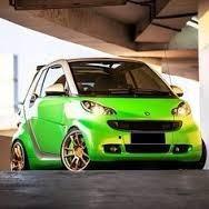 smart car mercedes radiador