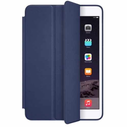 smart case couro + pelicula de vidro para ipad pro 9,7