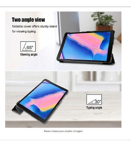 smart case galaxy tab a 8' com slot para caneta p200 p205
