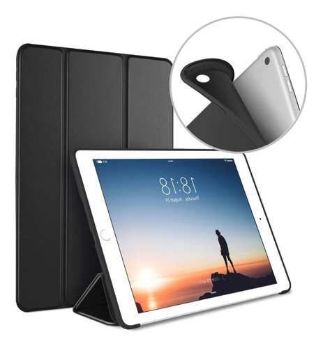 smart case ipad 9.7 2018 2017 5/6ta funda estuche silicona