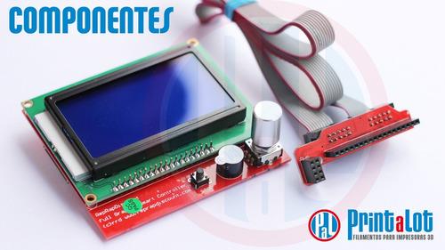 smart controller impresora 3d lcd 12864 full gr :: printalot