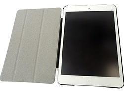 smart cover marfim p/ novo ipad mini 4 retina 2x1 c/ logo