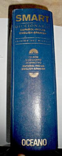 smart diccionario español-ingles oceano con cd-room