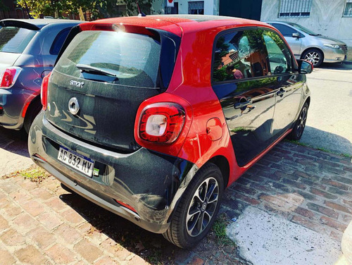 smart forfour 1.0 passion 2018