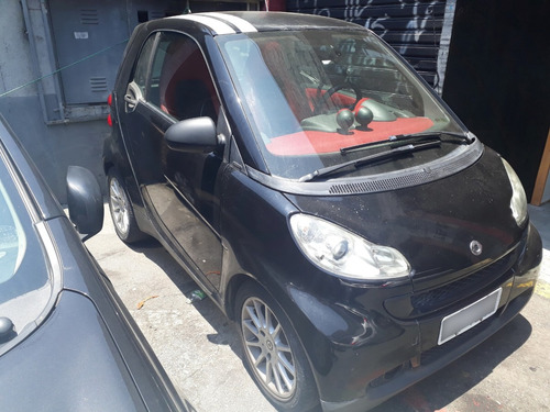 smart fortwo 1.0 2p coupé turbo preto 2010