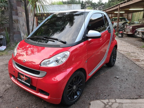 smart fortwo 1.0t passion charliebrokers rojo 2011