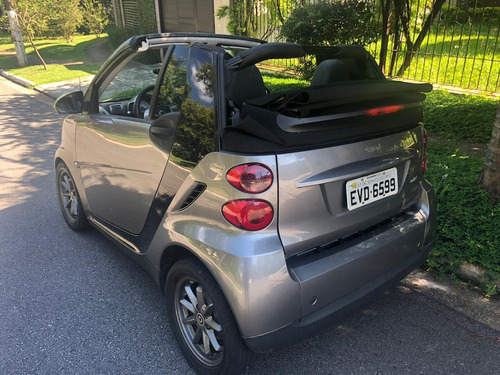 smart fortwo cabrio 1.0 grey style mhd 2p conversível 2010