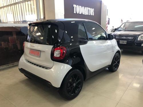 smart fortwo city 1.0 año 2016 color blanco