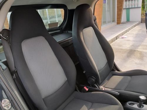 smart fortwo coupe black & white hibrido mt 2012