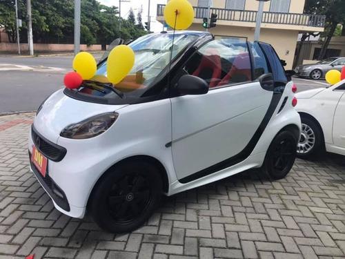 smart fortwo passion cabrio branco 2014