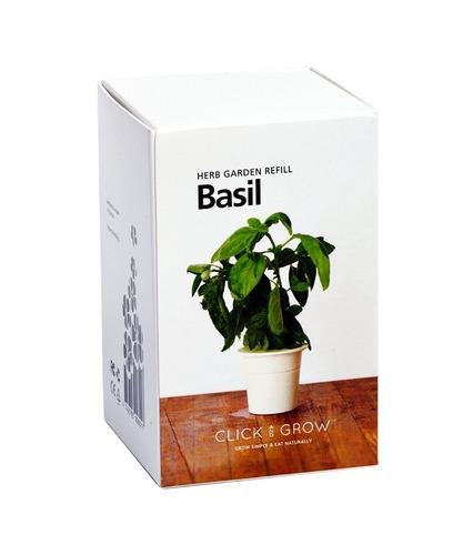 smart herb garden albahaca cartuchos click & grow
