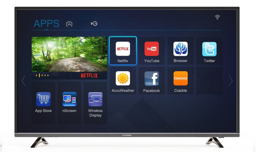 smart led tv 49  hyundai ultra hd (uhd) 4k - gtia. oficial