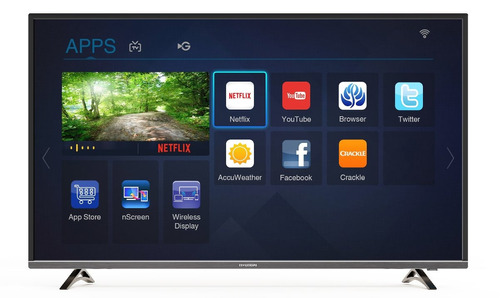 smart led tv 55  hyundai ultra hd (uhd) 4k - gtia. oficial