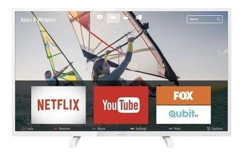 smart led ultra delgado tv 32 hd 32phg5833/77 color blanco
