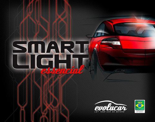 smart light - lanterna de freio motor (carro)