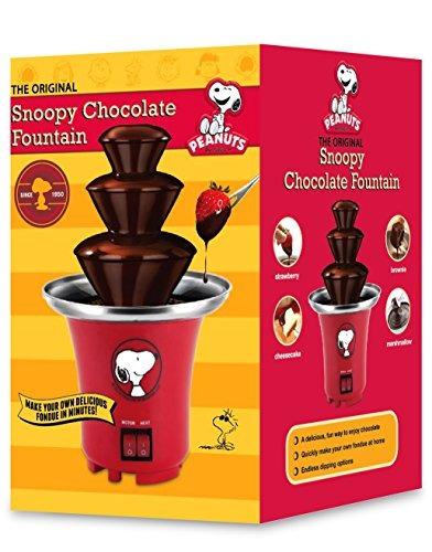 smart planet sff-1 cacahuetes snoopy fuente de chocolate,