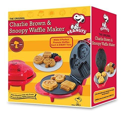 smart planet wm6s peanuts snoopy y charlie brown waffle make