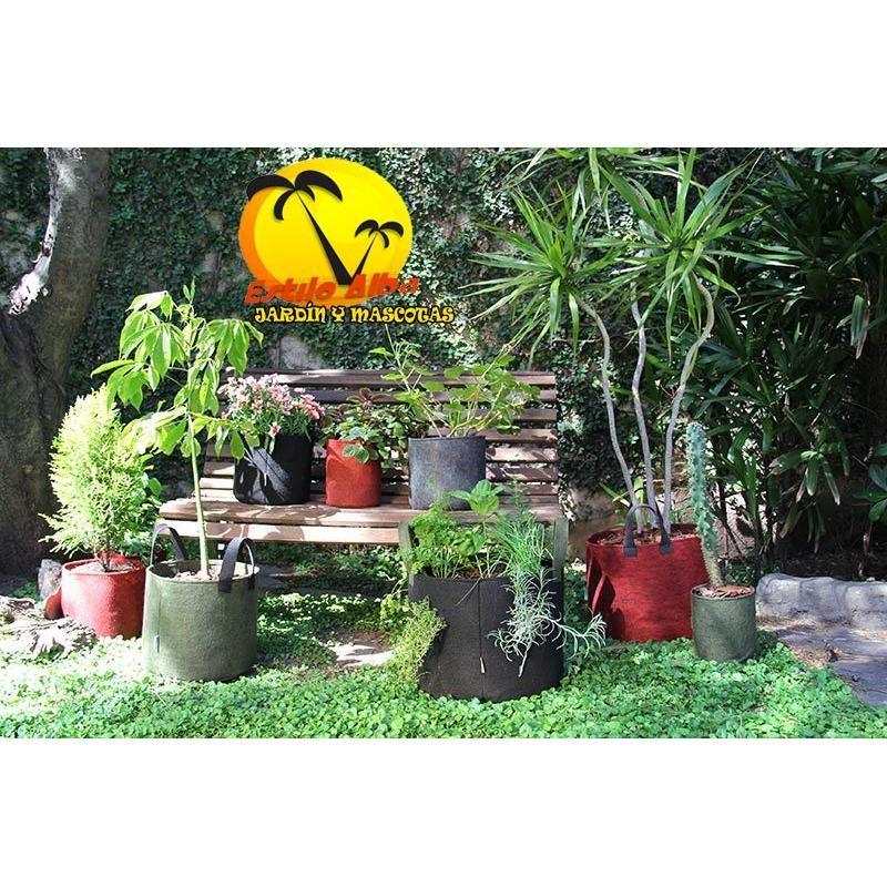 smart pot, maceta ecológica de tela geotextil x 12 litros - $ 160