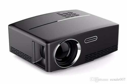 smart proyector android gp80up fullhd 1800lum 180pulg parlan