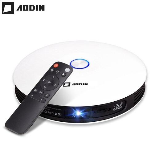 smart proyector aodin d08 dlp 3500lumens fullhd 3d 300 pulg