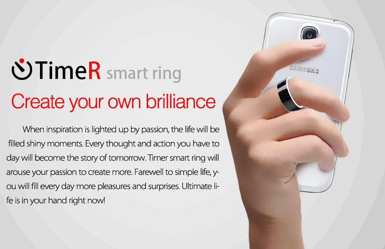 Smart Ring 2 Nfc Smartphone Android Windows Phone X