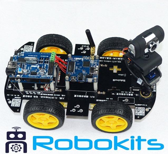 Smart robot car kit wifi 288500 en mercado libre smart robot car kit wifi malvernweather Choice Image