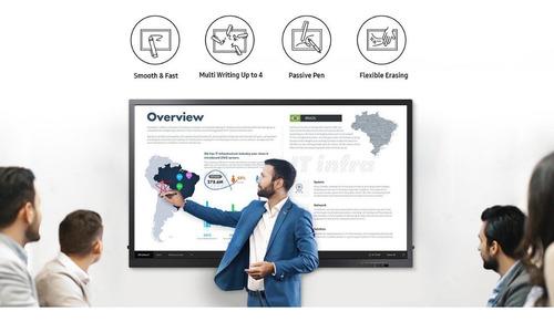smart signage eboard 75 vidriera digital led samsung local carteleria propaganda publicidad garantia fullhd uso continuo