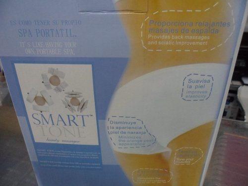 smart tone, masajeador,anticelulitis,único con luz infraroja