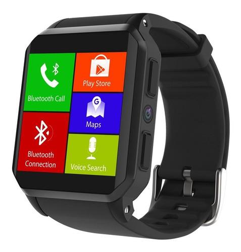 smart touch kw06 - reloj inteligente con cámara integrada