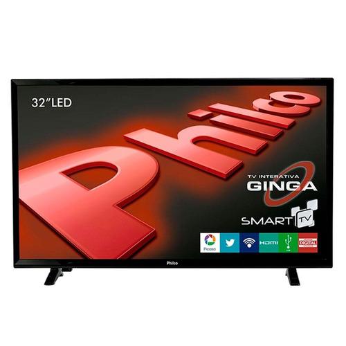 smart tv 32  led hd ph32e31dsgw wi-fi, surround - philco