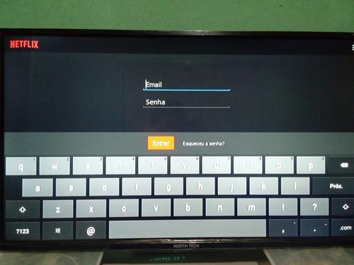 smart tv 32 pol com wifi 3 entradas hdmi + 2usb + conversor