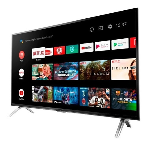 smart tv 40  hitachi cdh-le40smart17 android tv