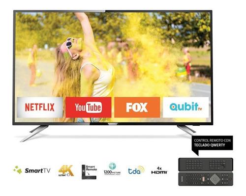 smart tv 43 4k philips 43pug6102/77 smart remote qwerty