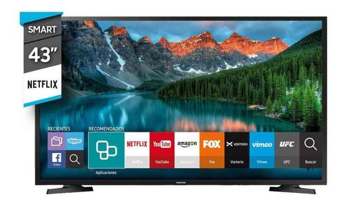 smart tv 43  full hd samsung un43j5290agczb