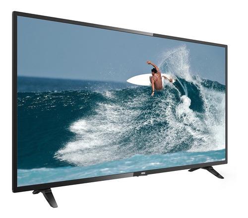 smart tv 43  led aoc 43s5295/78g, 2 usb, 3 hdmi e 60hz