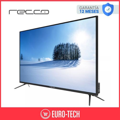 smart tv 43 pulgadas recco 4k led ultra hd  netfil wifi gtia