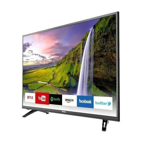 smart tv 43 sanyo fullhd led netflix wi fi quad core youtube