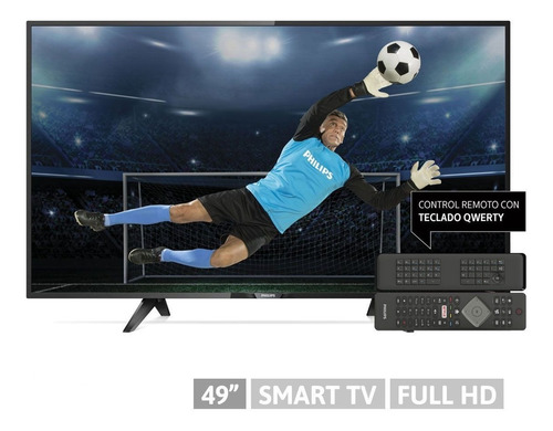 smart tv 49 philips pfg5102  fhd