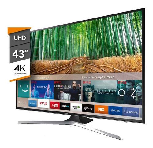 smart tv 4k 43  samsung un43mu6100gcfv