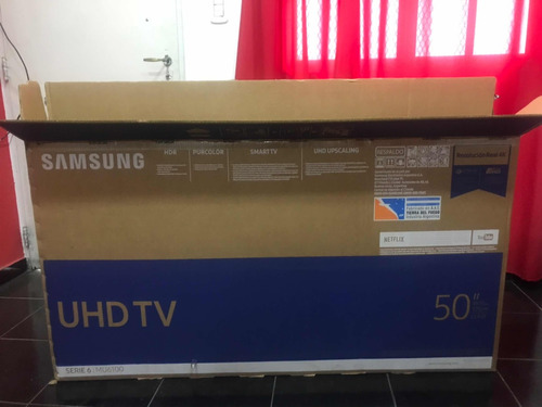 smart tv 4k 50 pulgadas samsung uhd 50mu6100